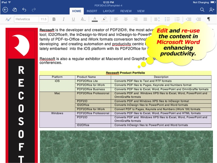 PDF to Word - PDF2Office 2017 screenshot-4