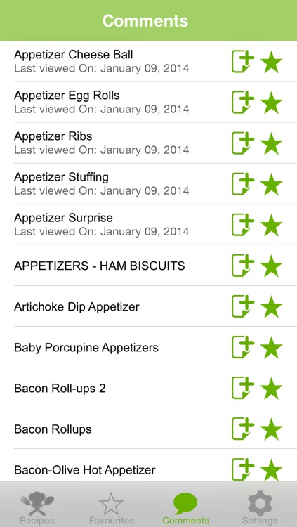 Appetizers Recipes screenshot-4