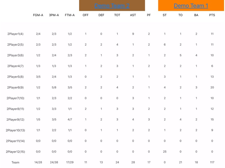 Your Basketball Stats screenshot-2