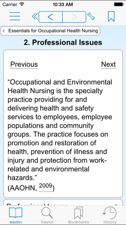 Essentials for Occupational Health Nursing