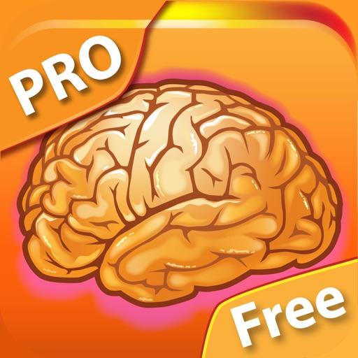 Мозготренер PRO Free - развивайте мозг и интеллект, используйте игры на память, восприятие и реакцию