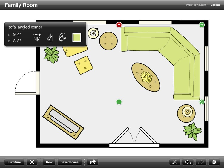 Living Spaces Tablet screenshot-3