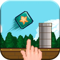 Flappy Box - Jump across obstacles, Simple concept tough to master!
