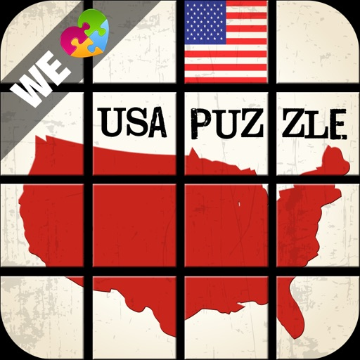 All States - USA Puzzle Set (by WE LOVE PUZZLE)