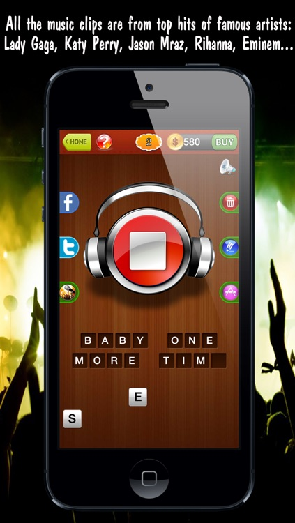 1 Clip 1 Song ™ guess what is the music from addictive word puzzle quiz game