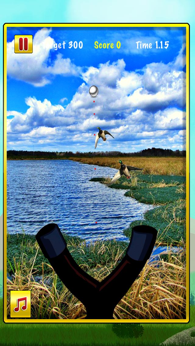スリング ショット アヒル 狩猟 冒険: 最初の 人 狙撃兵 シューター ゲーム Freeのおすすめ画像2