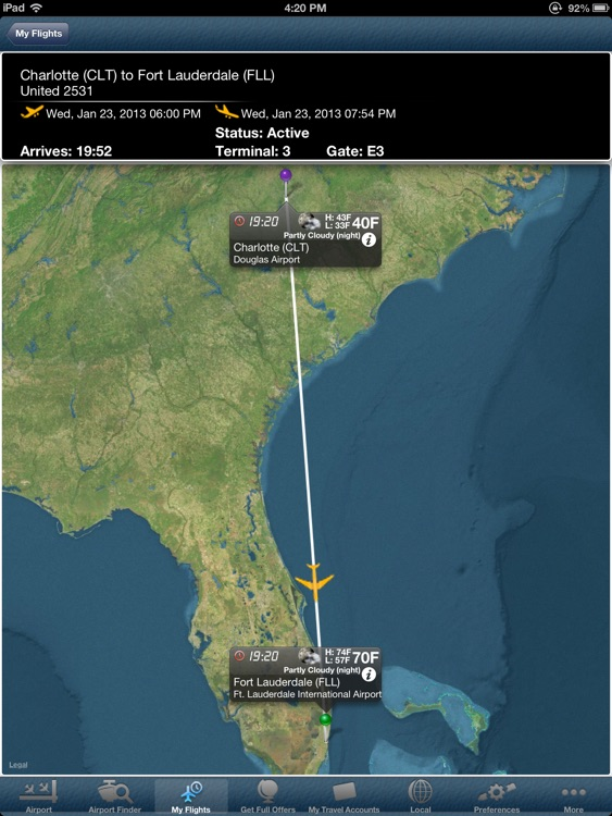 Fort Lauderdale Airport + Flight Tracker Premium HD FLL Ft Lauderdale