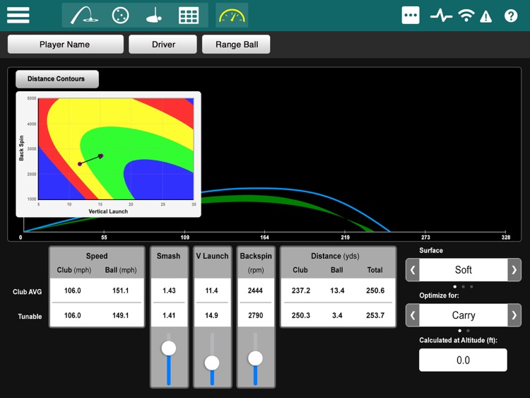 FlightScope Xi+ screenshot-1