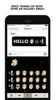 Fallout CHAT iphone images