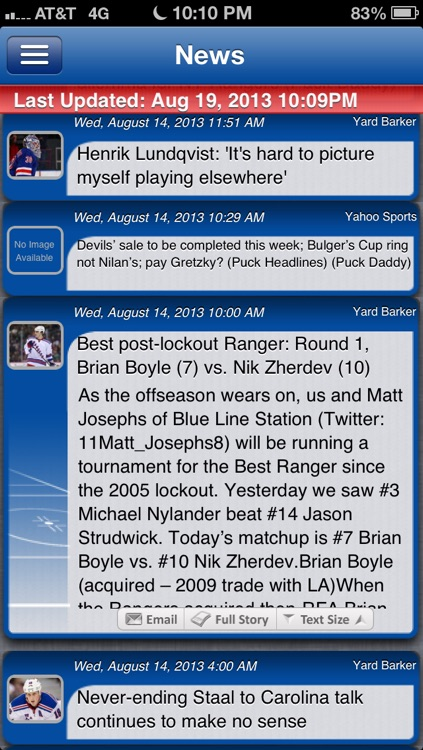 New York R Hockey Live screenshot-3