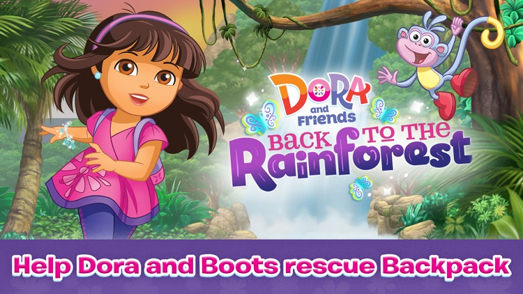 Dora and Friends Back to the Rainforest screenshot-0