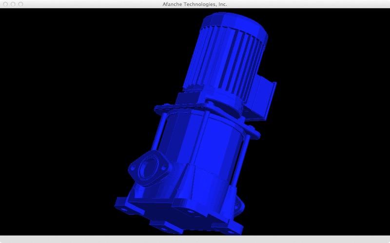 STEP Viewer 3D скриншот программы 4