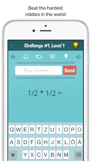 HackMigo - The hardest riddles in the world on the App Store