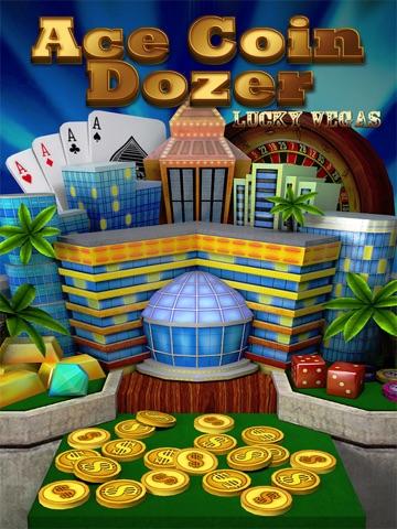 Ace Coin Dozer Lucky Vegas Arcade Game by Top Kingdom Games