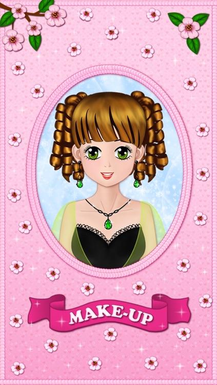 Make Up Makeover Dress Up Star Model Popstar Girl Beauty Salon - free educational makeup games for girls loving fashion in anime style screenshot-3