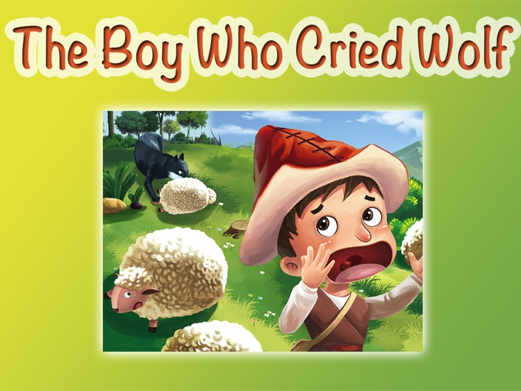 THE BOY WHO CRIED WOLF - Children's stories, folktales