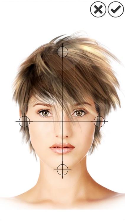 Hairstyle Magic Mirror Change your look screenshot-3