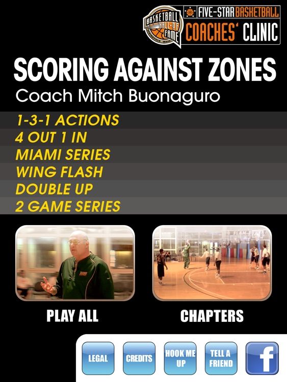 Scoring Against Zones - With Coach Mitch Buonaguro - Full Court Basketball Training Instruction - XL