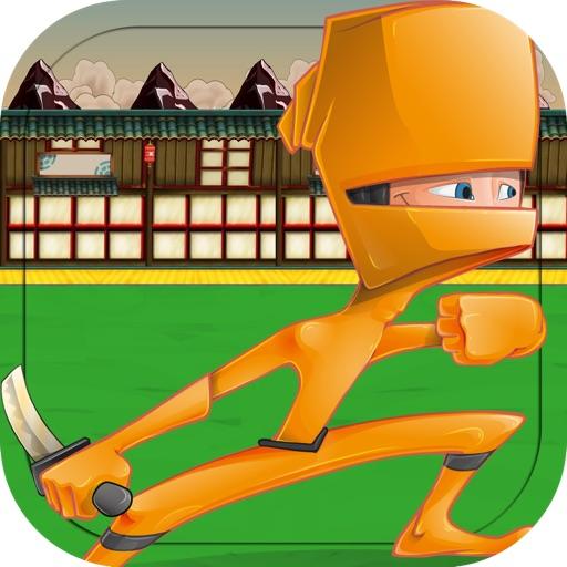 Ninja And Samurai Rooftop Fighting Battle - Warrior Assassin Sword Fighter Saga Pro