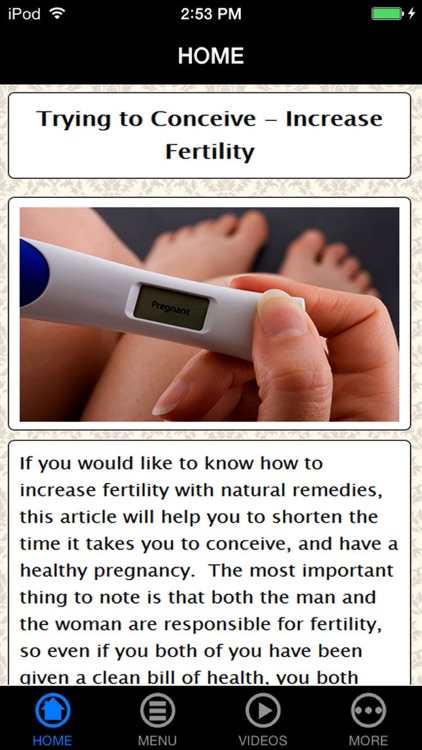 Get Best Fertility Information & Pregnant Fast