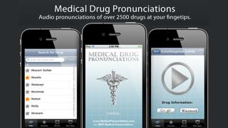 Drug Pronunciations review screenshots