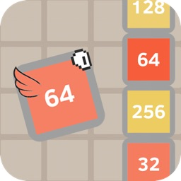 Flappy + 2048 - Hybrid Flying Number Game