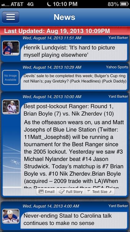 New York R Hockey Live screenshot-3