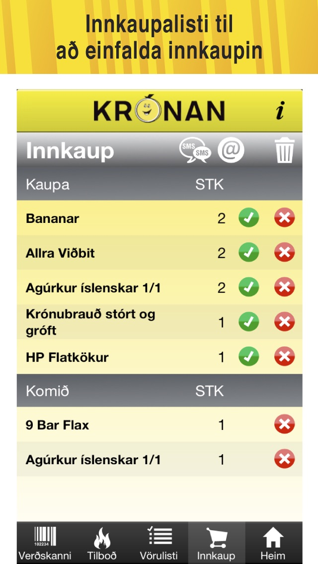 Krónan Screenshot