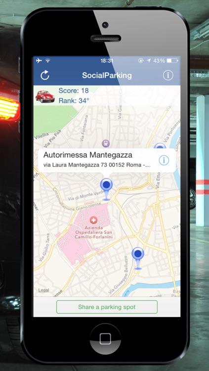 SocialParking - The Social App that helps you find a Parking Spot screenshot-3