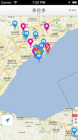 Toronto Offline Mapoffline map subway map GPS tourist