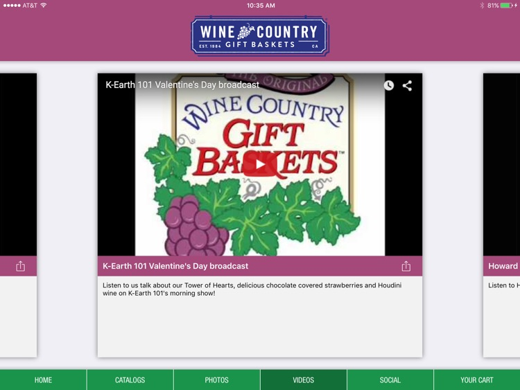 Wine Country Gift Baskets iCatalog screenshot-4