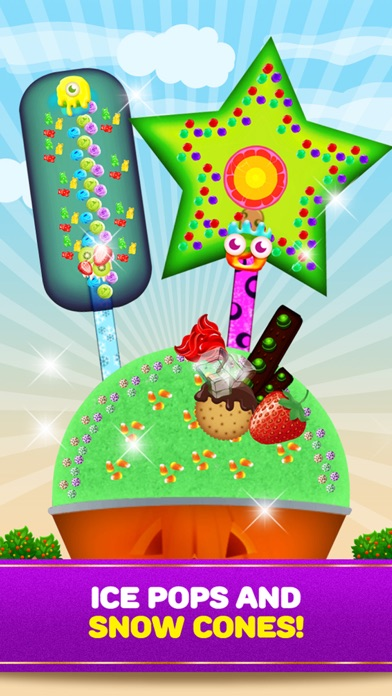Maker Games Ice Cream Shop Cones, Sundae, Sandwiches & Pops screenshot four