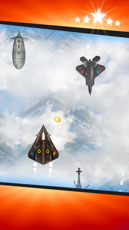 Aerial War - Stealth Jet Fighter War Game screenshot-2