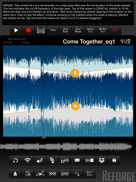 Reforge - Waveform Editor screenshot-3