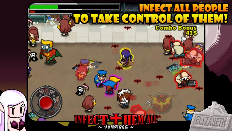 Infect Them All : Vampires lite screenshot-3