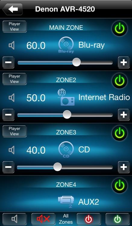 Denon Remote App screenshot-3