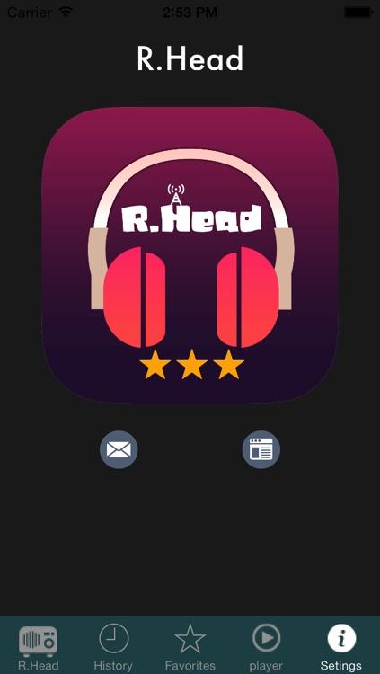 Top Internet Radio R.Head screenshot-3