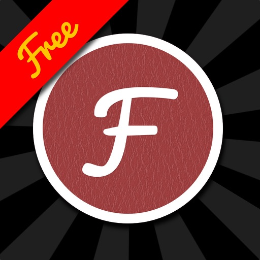 Fontpress Free: Caption Photos and Write Over Pictures with Beautiful Typography and Image Filter Effects