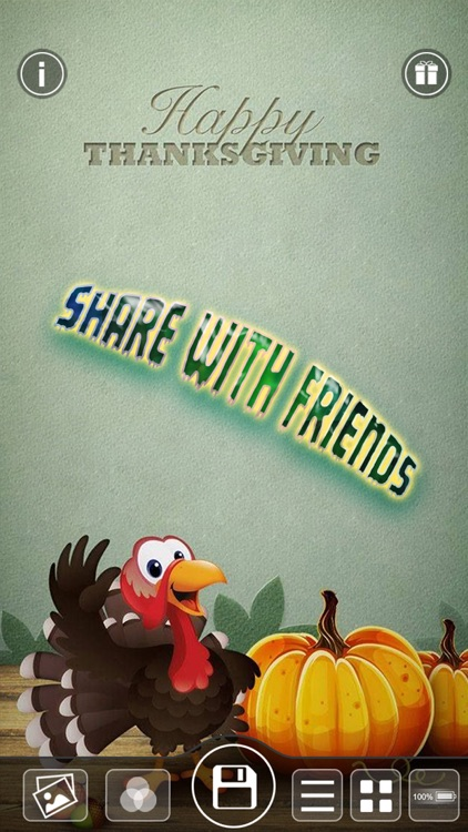 Thanksgiving Day Wallpapers Maker - Pimp Yr Home Screen with Cool Retina Images screenshot-4