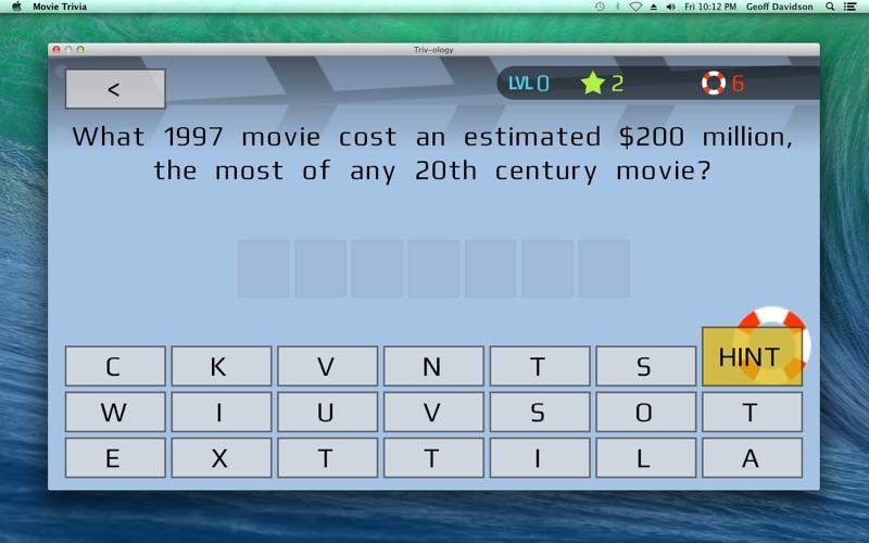 点击获取Movie Trivia