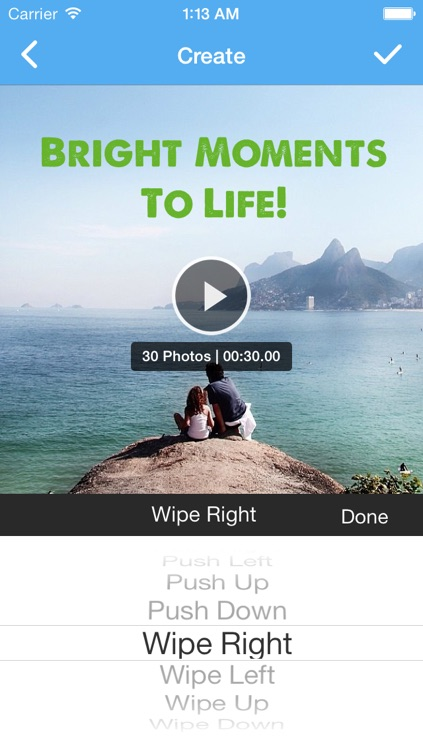 Instaflip - Create video slideshows with photos from your albums or your Instagram account screenshot-4