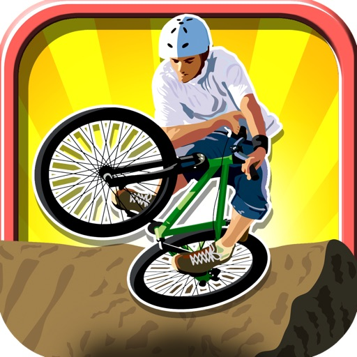 A Crazy Mountain Bike Race Free - Xtreme Downhill Racers icon