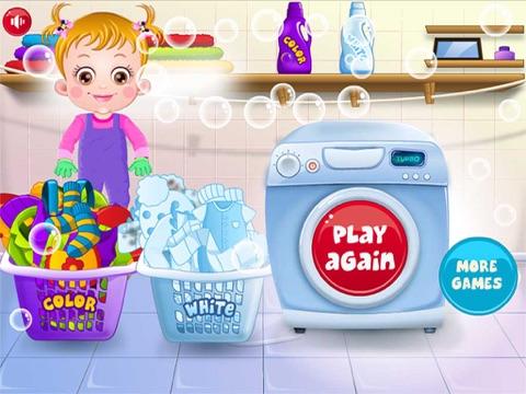 Baby Learn Washing Clothes-ipad-4