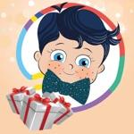 Doğum Günü Boyama Kitabı - Minik Bilge Doğum Gününü Boyama Yaparak Kutluyor