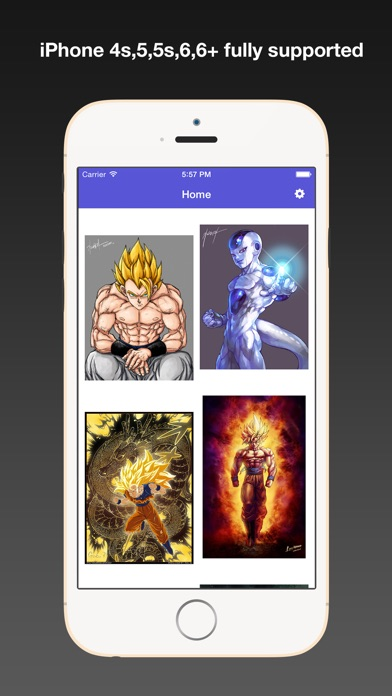 Dragon Ball Fan Art Wallpapers HD, Background & Themes with Cool HD Free Pics app image