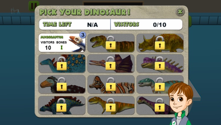 Dino Dan: Bone Caster screenshot-1