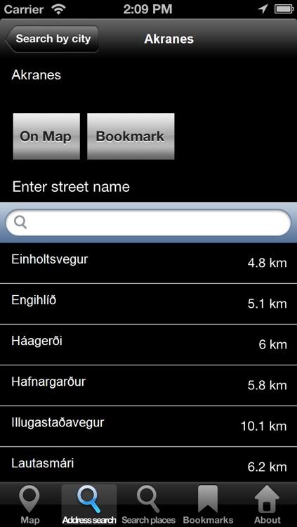 Offline Map Iceland: City Navigator Maps screenshot-3