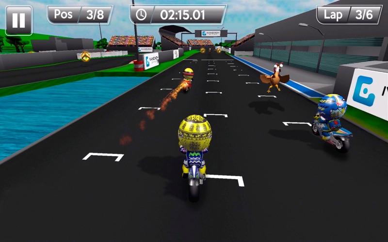 MiniBikers: The game of mini racing motorbikes screenshot 2