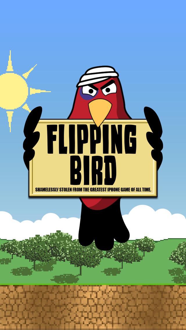 Flipping Bird screenshot one