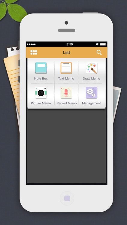 Note Box-Free (Memo, draw, photo, record, back up)
